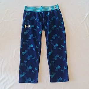 Girls Under Armour Capris (S:YM)